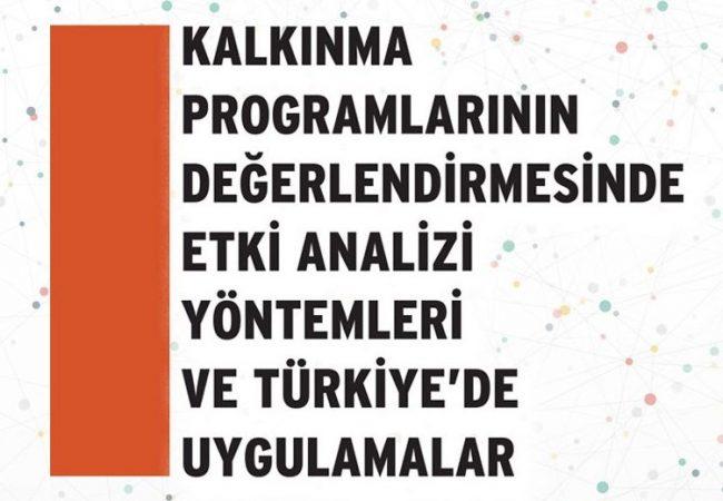 Kalkınma Programlarının Değerlendirmesinde Etki Analizi Yöntemleri ve Türkiye'de Uygulamalar